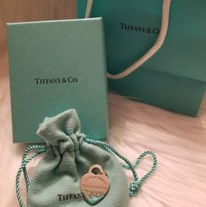 Tiffany & Co Blue Splash Heart